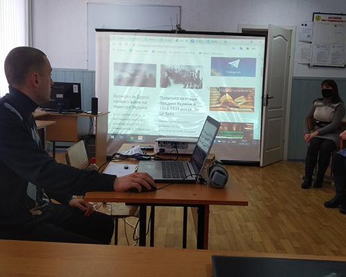 Про проведення майстер-класу на тему «Створення та використання особистого веб-ресурсу (блогу) в умовах дистанційного навчання».